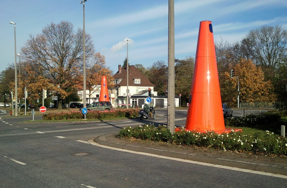 Safety Cones in Herford